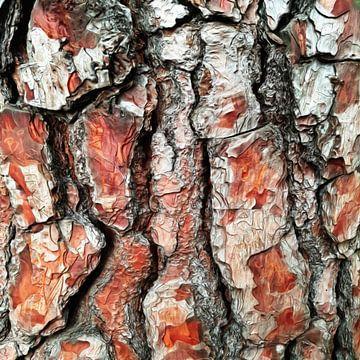 Abstract boomschors VII van Maurice Dawson