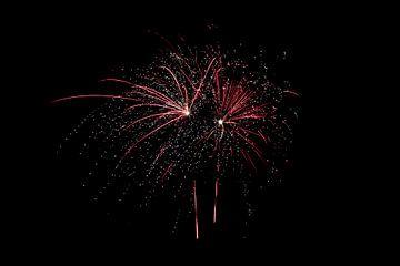 vuurwerk,oud en nieuw,knallen het jaar uit van Jessica Jongeneel