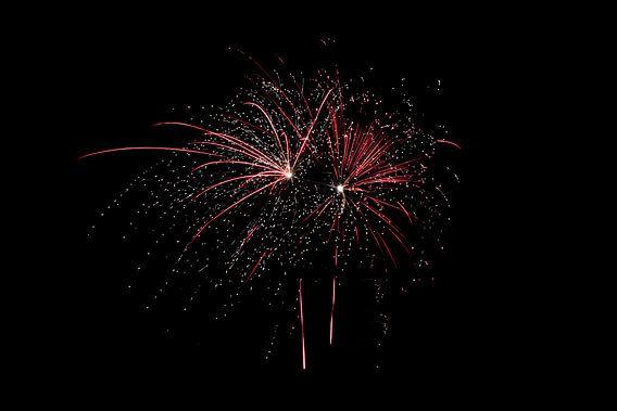 vuurwerk,oud en nieuw,knallen het jaar uit