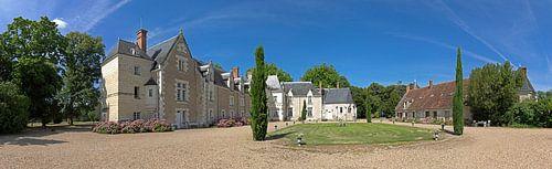 Chateau de Razay Panorama van