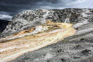 mound terrace - yellowstone national park