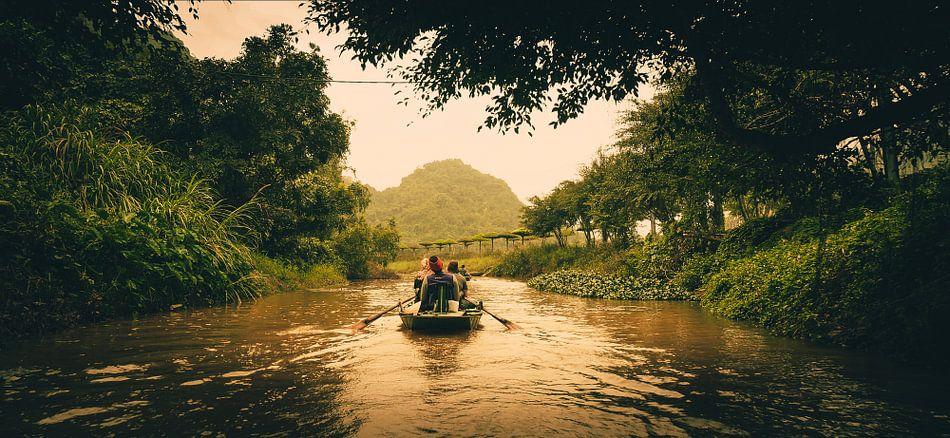 Boottocht in Trang An van Joris Pannemans