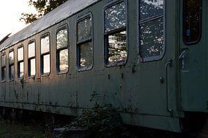 Oude Treinwagon van FotoGraaG Hanneke