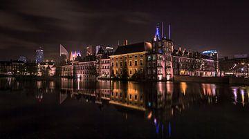 Een avond langs de Haagse Hofvijver van
