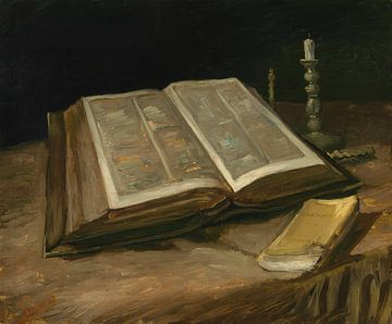Stillleben mit Bibel, Vincent van Gogh
