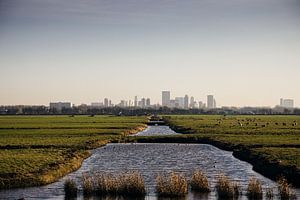 Rotterdam skyline van Jasper Verolme