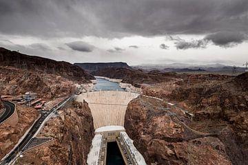 Hoover Dam - 3 van Keesnan Dogger Fotografie