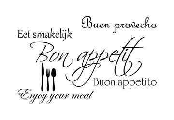 Bon appetit - Wit van Sandra H6 Fotografie