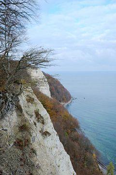 November an der Kreideküste von Ostsee Bilder