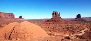 Monument valley panorama van
