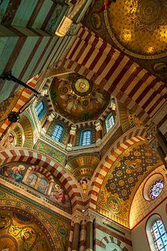 Basilika Notre Dame de la Garde in Marseille Frankreich