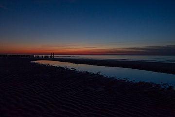 zonsondergang van Joanke Fotografie
