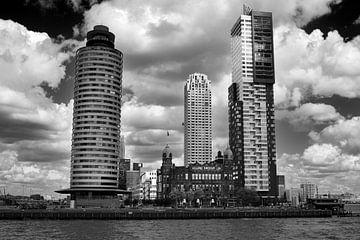 Rotterdam vanaf het water (Kop van Zuid) van