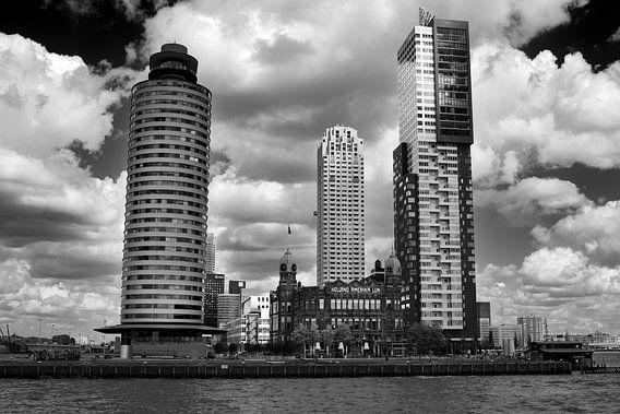Rotterdam vanaf het water (Kop van Zuid)