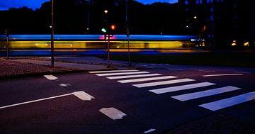 Dynamischer Zug in Göteborg von