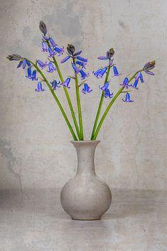 Wilde hyacinten in vaas von Elles Rijsdijk