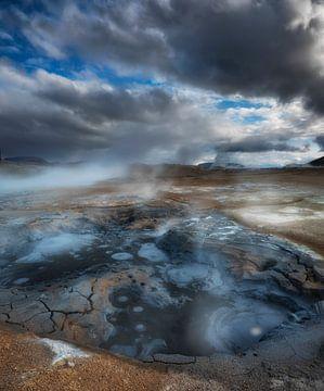 Vulkanische modderpoel van