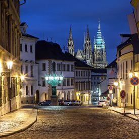 In de straten van Praag van Frank Herrmann