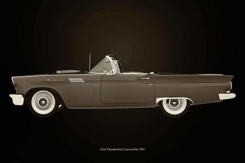 Ford Thunderbird Cabriolet van Jan Keteleer
