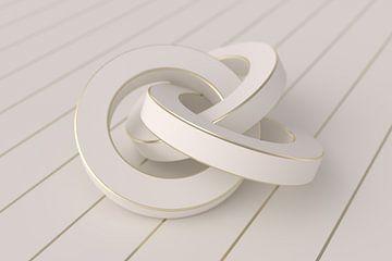 Weiße Ringe von Jörg Hausmann