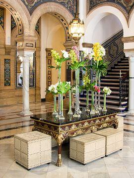 Intérieur de l'hôtel Alfonso XIII à Séville sur René Weijers