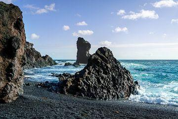 Strand von Djúpalónssandur - Island von Sander Schraepen