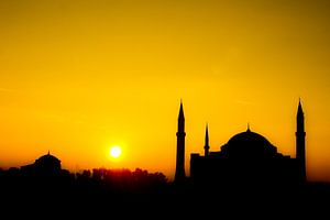 Zonsopkomst Blauwe Moskee