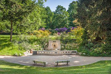 Landgrafenbrunnen im Kurpark von Bad Homburg van Christian Müringer
