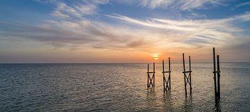 Steiger van Sil Texel Zonsopkomst sur Texel360Fotografie Richard Heerschap