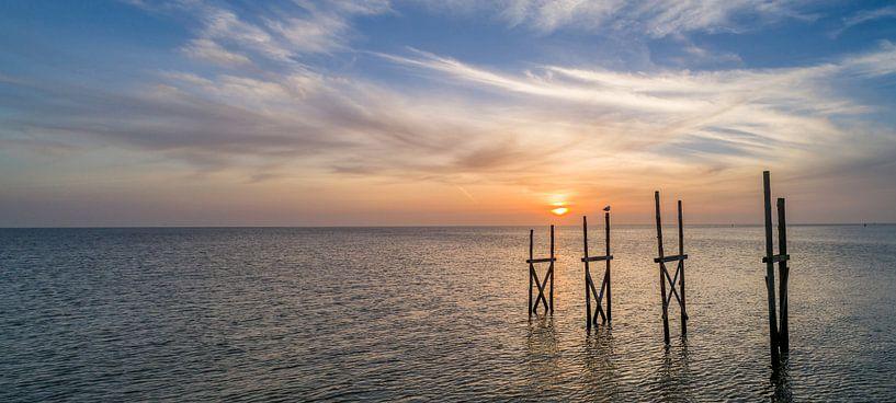 Steiger van Sil Texel Zonsopkomst van Texel360Fotografie Richard Heerschap