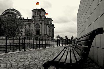 Reichstag Berlin - Sitz des Deutschen Bundestages von Frank Herrmann