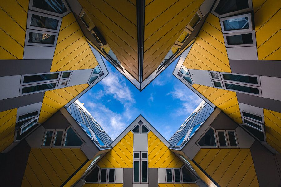 Kubuswoningen (Blaakse Bos), Rotterdam van Martijn Smeets