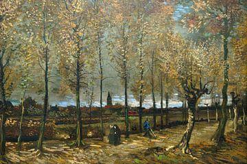 Populierenlaan bij Nuenen -  Vincent van Gogh von Marieke de Koning