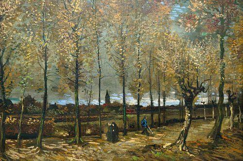 Populierenlaan bij Nuenen -  Vincent van Gogh van