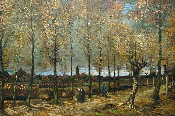 Populierenlaan bij Nuenen -  Vincent van Gogh van Marieke de Koning