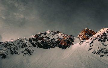 Hoog in de Alpen van Oleg-Pitkovskiy-Art
