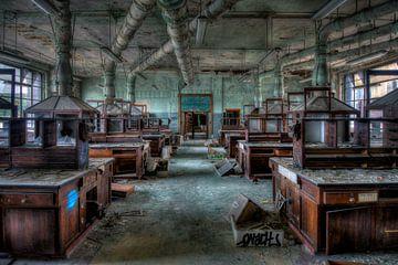 Chemisches Labor einer Universität. von Karl Smits