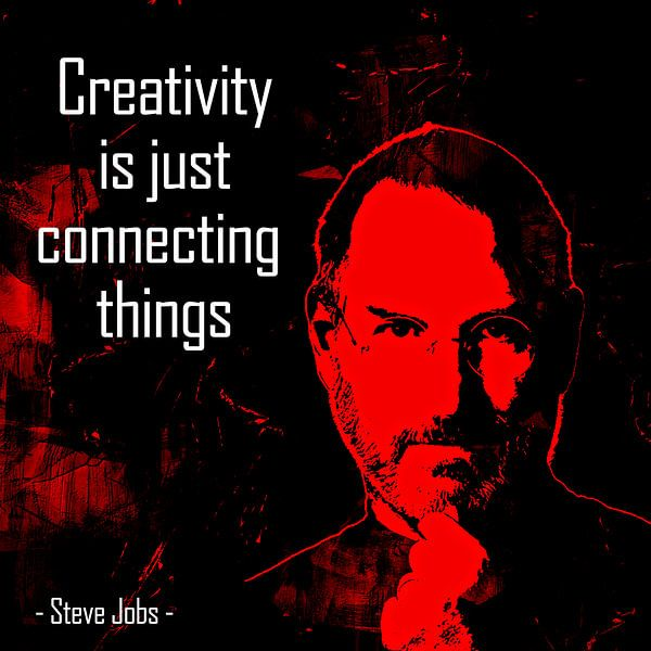 Creaivity is just connecting things von PictureWork - Digital artist