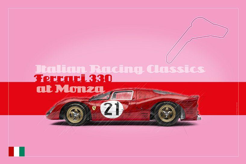 Ferrari 330 in Monza, Italien von Theodor Decker