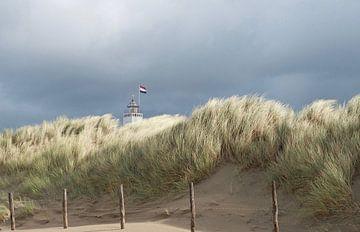 Phare Noordwijk sur Hans Vink