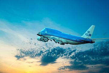 Boeing 747-406, KLM PH-BFN, The City of Nairobi van