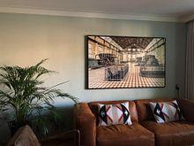 Kundenfoto: Compressorhal in de steenkolenmijn van Winterslag (B) von Marianne Dirix, auf leinwand