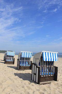 De drie blauwen van Ostsee Bilder