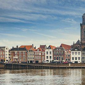 Stadsgezicht Deventer - IJsselkade (2018) -2b (16:9 -  panorama) van Rob van der Pijll