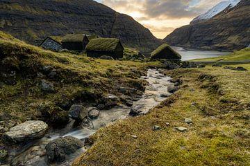 Färöer Inseln Saksun von Stefan Schäfer