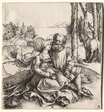Het aanbod van liefde, Albrecht Dürer van De Canon