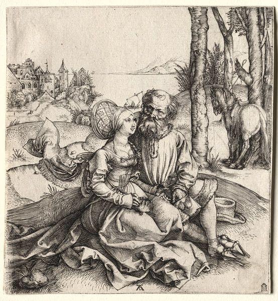 L'offre d'amour, Albrecht Dürer sur De Canon