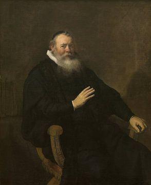 Portrai von Eleazar Swalmius, Rembrandt van Rijn