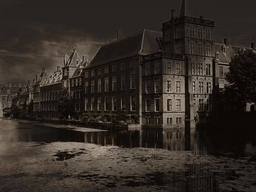 Ministerie van Algemene zaken in Den Haag van Abra van Vossen