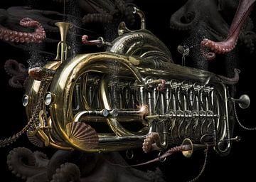 Steampunk trumpet van Olaf Bruhn